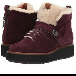 New!  Coach Sheerling Urban Hiker Boots